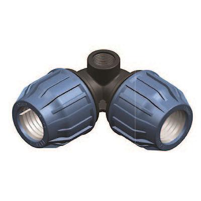 25 mm PP Winkel mit seitlichem IG PE Rohr Winkel mit Innengewinde