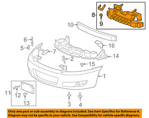 Chevrolet GM Oem 0613 Impala Front Bumper Grilleenergy Absorber. Is Loading Chevroletgmoem0613impalafrontbumper. Chevrolet. 2011 Chevy Impala Front Diagram At Scoala.co