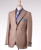 $2395 Belvest Camel Tan 100% Cashmere Sport Coat 42 R (eu 52) Blazer on sale
