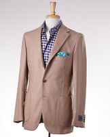 $2395 Belvest Camel Tan 100% Cashmere Sport Coat 42 R (eu 52) Blazer on sale