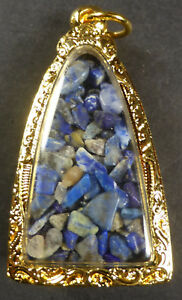 LAPIS-BLUE-SARIRA-PHRA-THAT-THAD-BUDDHA-AMULET-CHEST-RELIC-WAT-MAHATHAT