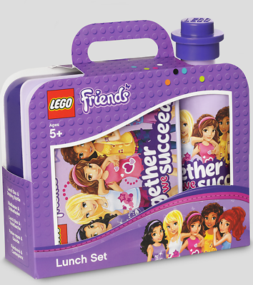 Lego Baukästen & Sets Baukästen & Konstruktion ZuverläSsig Lego Friends 4059 Lunch Set Drinking Bottle 350 Ml Und Lunch Box Neu BüGeln Nicht