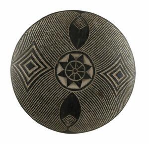 Shield Zulu Nguni Wood 17 5/16in Art Customary Law African the South 17158