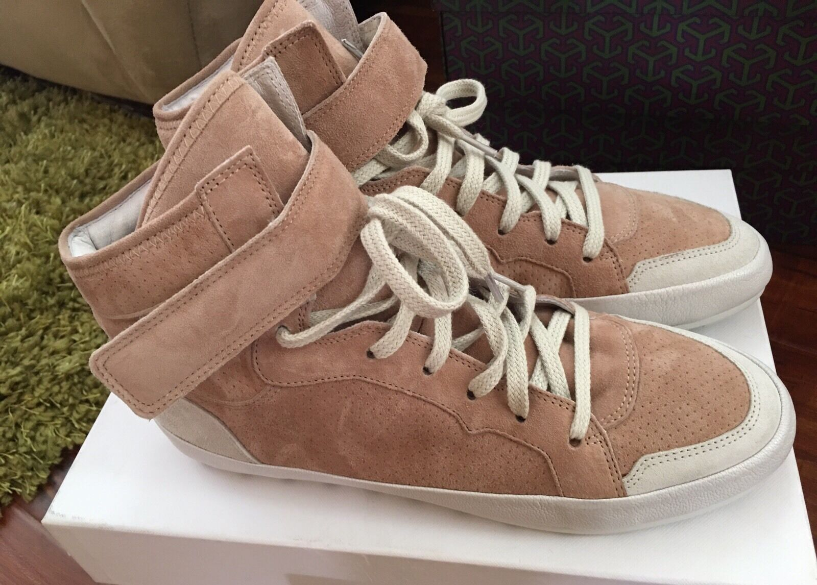 Stylish ISABEL MARANT Étoile Bessy leather sneakers High Tops 40 Eur 9 Us  550