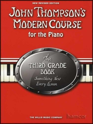 John Thompson/'s Modern Course for the Piano 3rd Third Grade Music Book