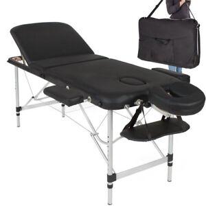 Lettino Massaggio Pieghevole Alluminio.Dettagli Su Lettino Massaggi Alluminio Pieghevole 3 Zone Fisioterapia Spa Nero 12kg Borsa