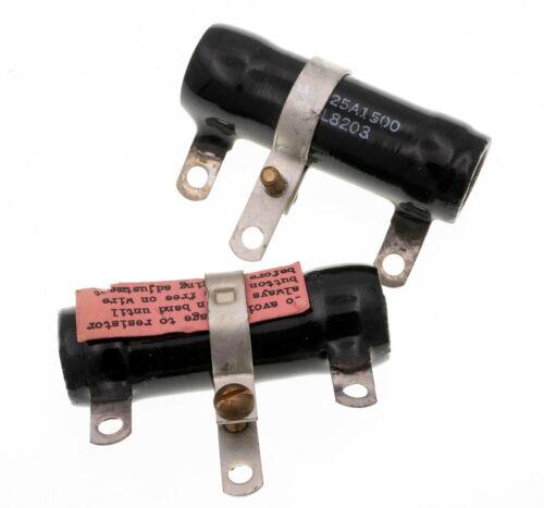 1.5K Tubular Ceramic Power Resistor 25W 1500 Ohm 25 Watt Adjustable