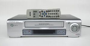 Philips VR 740 HiFi-Videorekorder silber