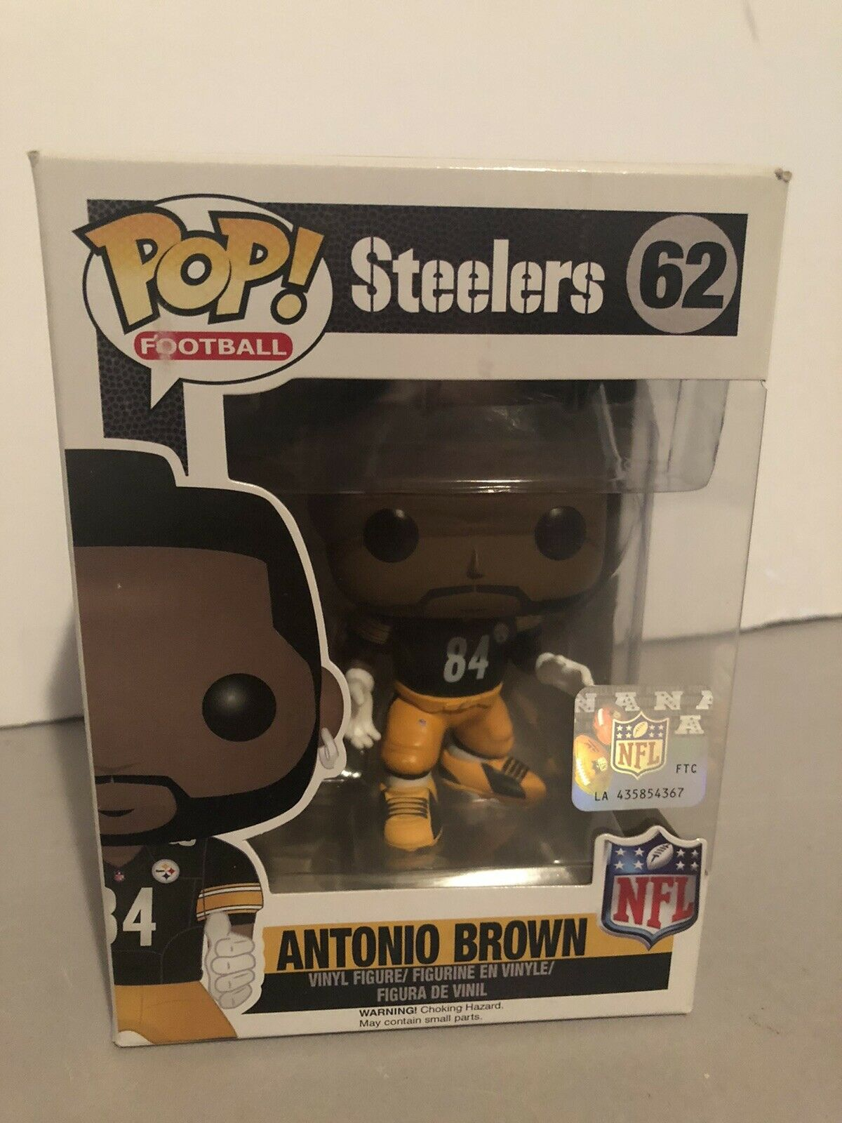 Antonio Brown Action Figure Funko POP NFL Wave 3