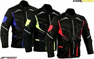 MENS-SPEED-RIDER-RANGE-CE-ARMOUR-MOTORBIKE-MOTORCYCLE-TEXTILE-JACKET-COAT