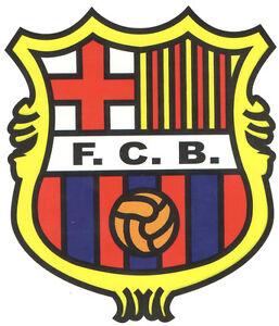 Sticker vinile sticker scudo fc barcellona barca tuning moto ebay - Logo barcelone foot ...