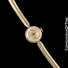 1960's PIAGET Ladies Vintage Handwound Bracelet Watch - 18K Gold