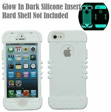 For iPhone 5, iPhone5s, iPhone SE Glow-in-the-Dark Add On RKR Silicone Skin Case