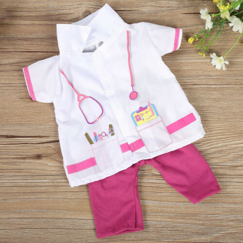 1 Set Clothes Outfits for 18 Inch Doll Cosplay Doctor//Nurse Gift for Girls