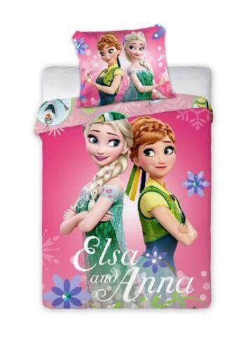Eiskönigin Frozen Anna /& Elsa Baby Bettwäsche  40 x 60 cm 100 x 135 cm