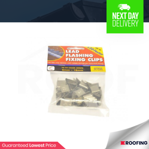 Lead Hall Clips Flashing Fixing Clips 10 Packs Of 50 Clips 500 In Total