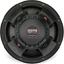 (2) KICKER 43CVR124 400 Watt Dual Voice Coil 4 Ohm CompVR 12-inch Subwoofers