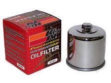 K&N Oil Filter Chrome for Suzuki Intruder VS700 VS750 VS800 VS1400