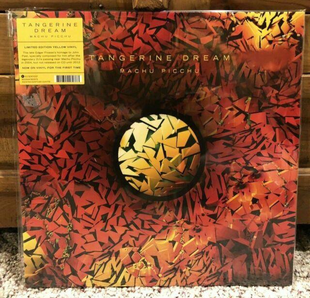 RSD 2019 Tangerine Dream Machu Picchu LP YELLOW VINYL Record Store Day 1-of-1000