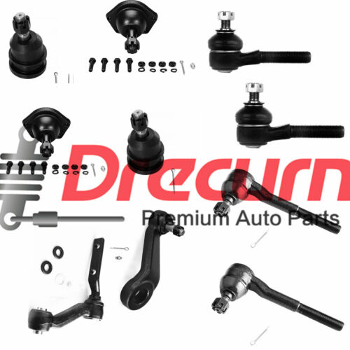 10PC Ball Joint Tie Rods Pitman Idler Arm SET For FORD LINCOLN MERCURY Vehicles
