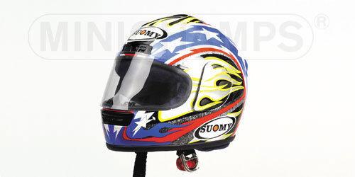 Suomy Helmet 2001 B.Bostrom 2001 Superbike 326011255 scala 1/2 Minichamps