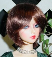 "Doll Wig, Monique Gold ""Buttercup"" Size 8/9 Chestnut Brown w BB ? (Unisex Wig)"
