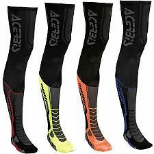 NEW ACERBIS X LEG MX MOTOCROSS ENDURO OVER KNEE BRACE GUARD SOCKS  MX  QUAD