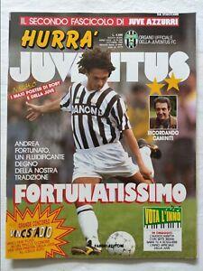 HURRA-039-JUVENTUS-N-10-OTTOBRE-1993-FASCICOLO-POSTER-ROBERTO-BAGGIO-DEL-PIERO