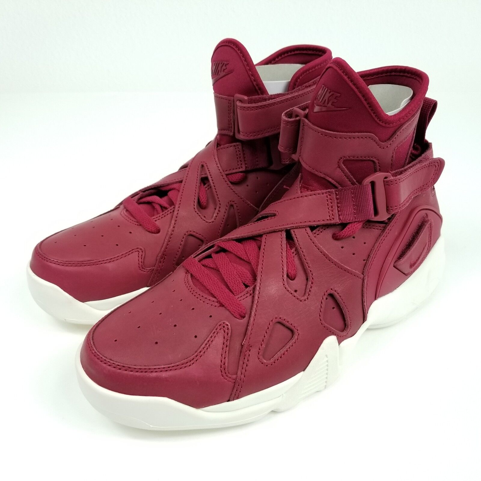NEW NIKE AIR UNLIMITED MENS SZ 10 NOBLE SHOES NOBLE 10 RED SAIL WHITE NIKE LAB 854318 661 6abdd8