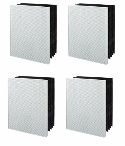 4 PACK REPLACEMENT FILTER TO FIT ELECTROLUX EL041 CARBON AIR CLEANER ELAP15D7PW