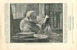 William Ewart Gladstone par Mac Lure Hamilton Peintre GRAVURE ANTIQUE PRINT 1892 - France - William Ewart Gladstone UK Prime Minister by McClure Hamilton Painter ANTIQUE PRINT GRAVURE 100 % DÉPOQUE 1892 PORT GRATUIT EUROPE A PARTIR DE 4 OBJETS BUY 4 ITEMS AND EUROPE SHIPPING IS FREE Il s'agit d'un fragment de page originale avec texte  - France