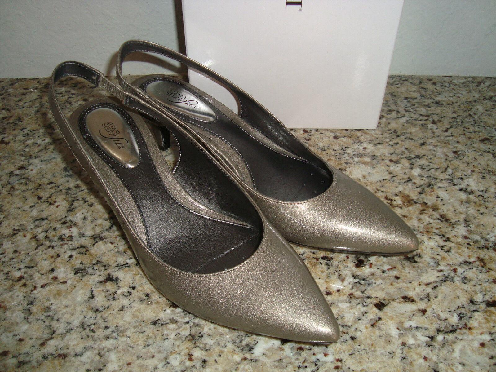 NEU Alfani Rainegry Damenschuhe Stormy Gray Schuhes Heels 6.5 Medium