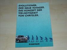 51334) Chrysler Voyager Prospekt 03/1991