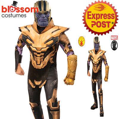 CK1437 Endgame Deluxe Thanos Superhero Avengers 4 Marvel Boys Book Week Costume
