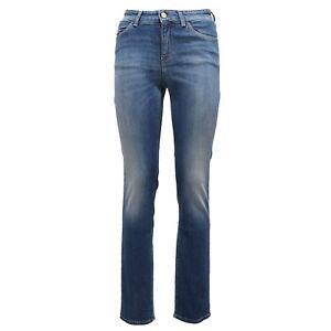 lowest price a3867 0d1ca Details about 6678Y jeans donna denim ARMANI JEANS J18 DAHLIA SLIM FIT  trouser woman