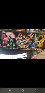 "In sTOCK S.H. Figuarts ""Super Samurai Power Rangers"" SDCC 2013 Action Figure SET"