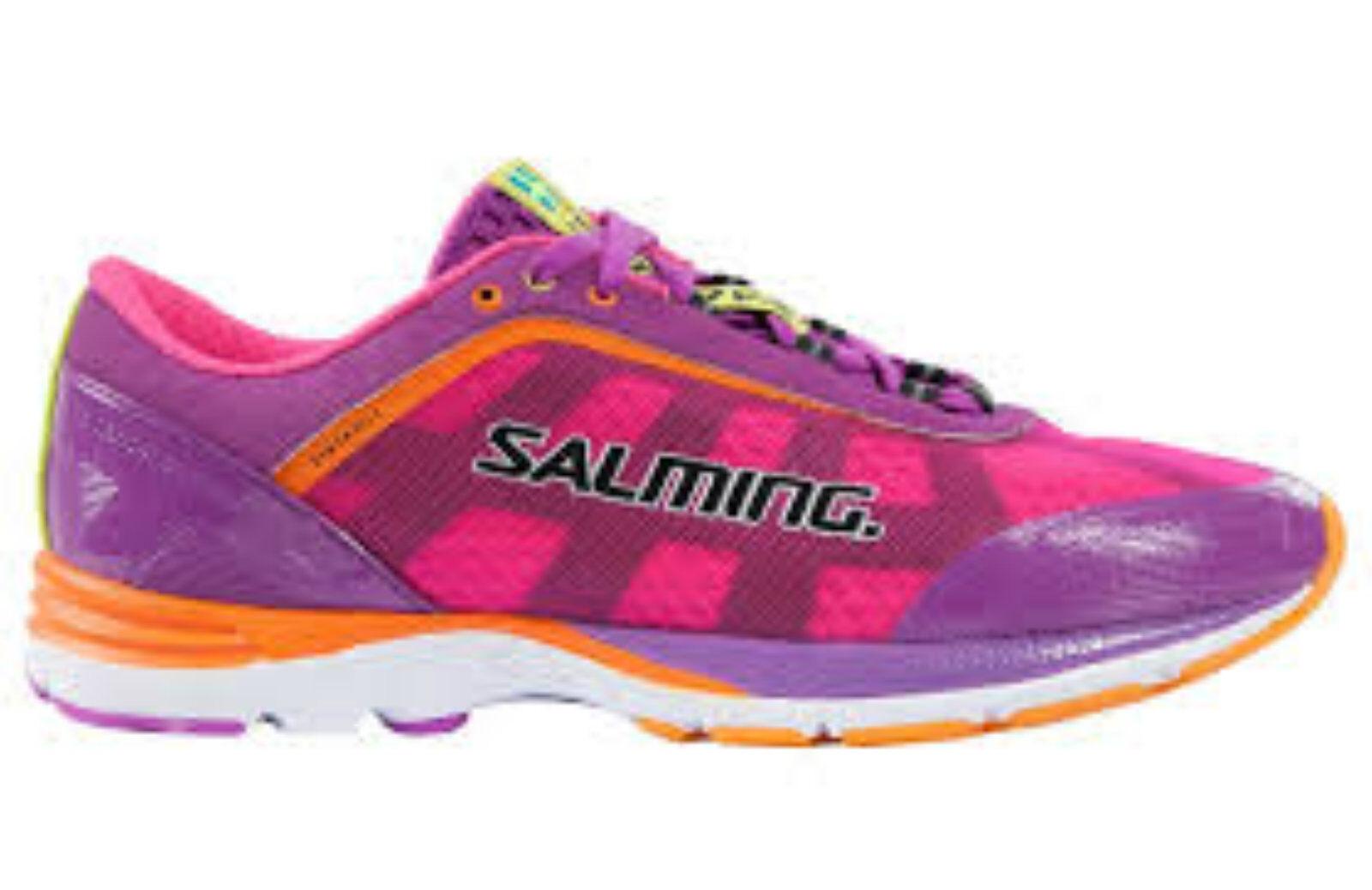 Salming Distance Women's Running shoe  Purple cactus flower UK sz 4.5  new branded