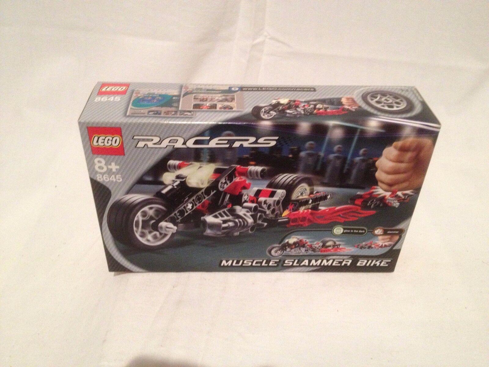 Lego Racer 8645 Muscle Slammer Bike NEUF 1 édition