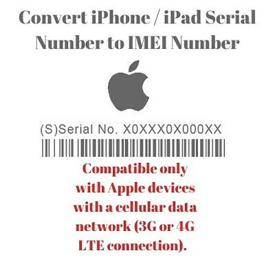 Convert Iphone Serial Number To Imei