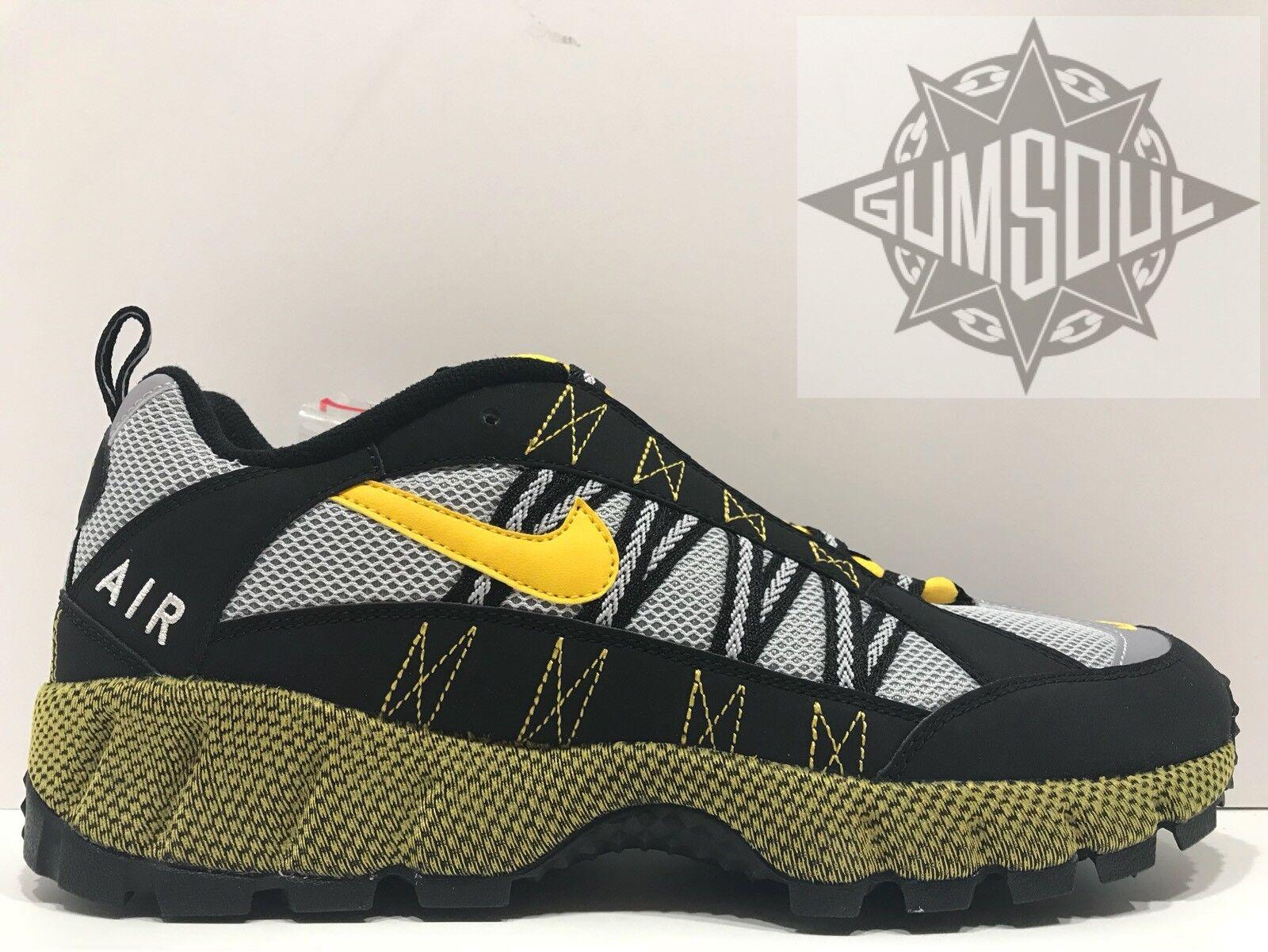 Nike air humara 17 acg nero varsity mais grey tracce scarpe aj1102 001 sz 13