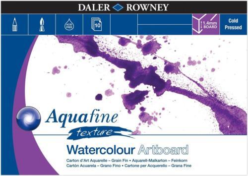 Daler Rowney Aquafine Acuarela tablero del arte Pad-A4 o A3