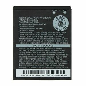 NEW-ORIGINAL-HTC-Thunderbolt-EXTENDED-Battery-BTE6400-2750mA