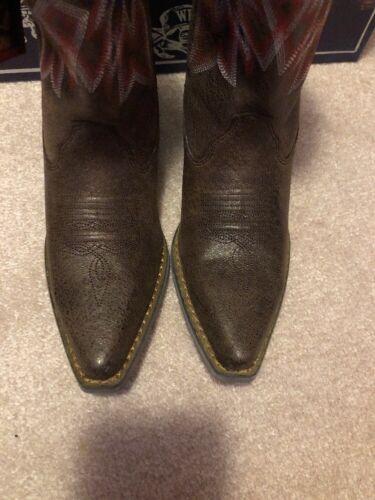 Durango Cowboy Boots Crush Women/'s size 7.5 NIB Brown DCDRD011 Cowgirl Western