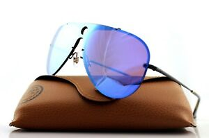 86b7e45947 Image is loading NEW-Authentic-RAY-BAN-BLAZE-SHOOTER-Black-Violet-