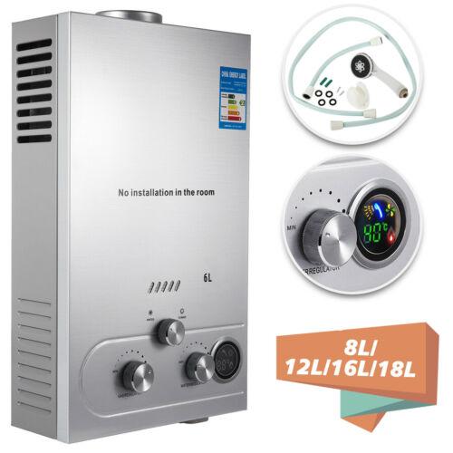 8-18L Propangas Gas LPG Warmwasserbereiter Warmwasserspeicher Durchlauferhitzer