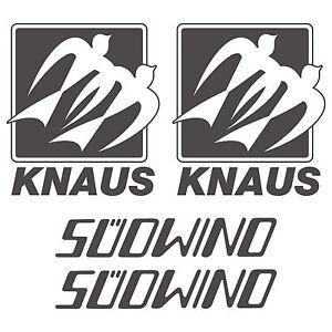 2-x-Knaus-Old-SUDWIND-aufkleber-sticker-wohnmobil-camper-wohnwagen-caravan