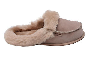Astounding New Mens Womens Genuine Sheepskin House Slippers Shoes Wool Interior Design Ideas Ghosoteloinfo