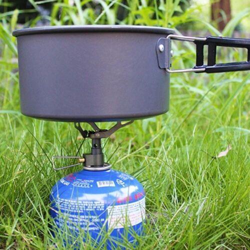 Lixada 25g Gaskocher Outdoor Gas Brenner Kanisterofen Campingkocher 2700W W4K0