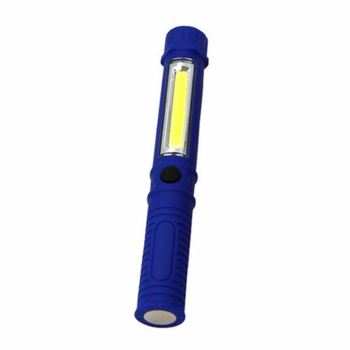 Lampe de maintenance multifonction avec lampe de travail en forme de stylo à leM