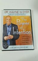 Dr Wayne Dyer The Power Of Intention 2 Disc Live Lecture - Sealed Free Shipping